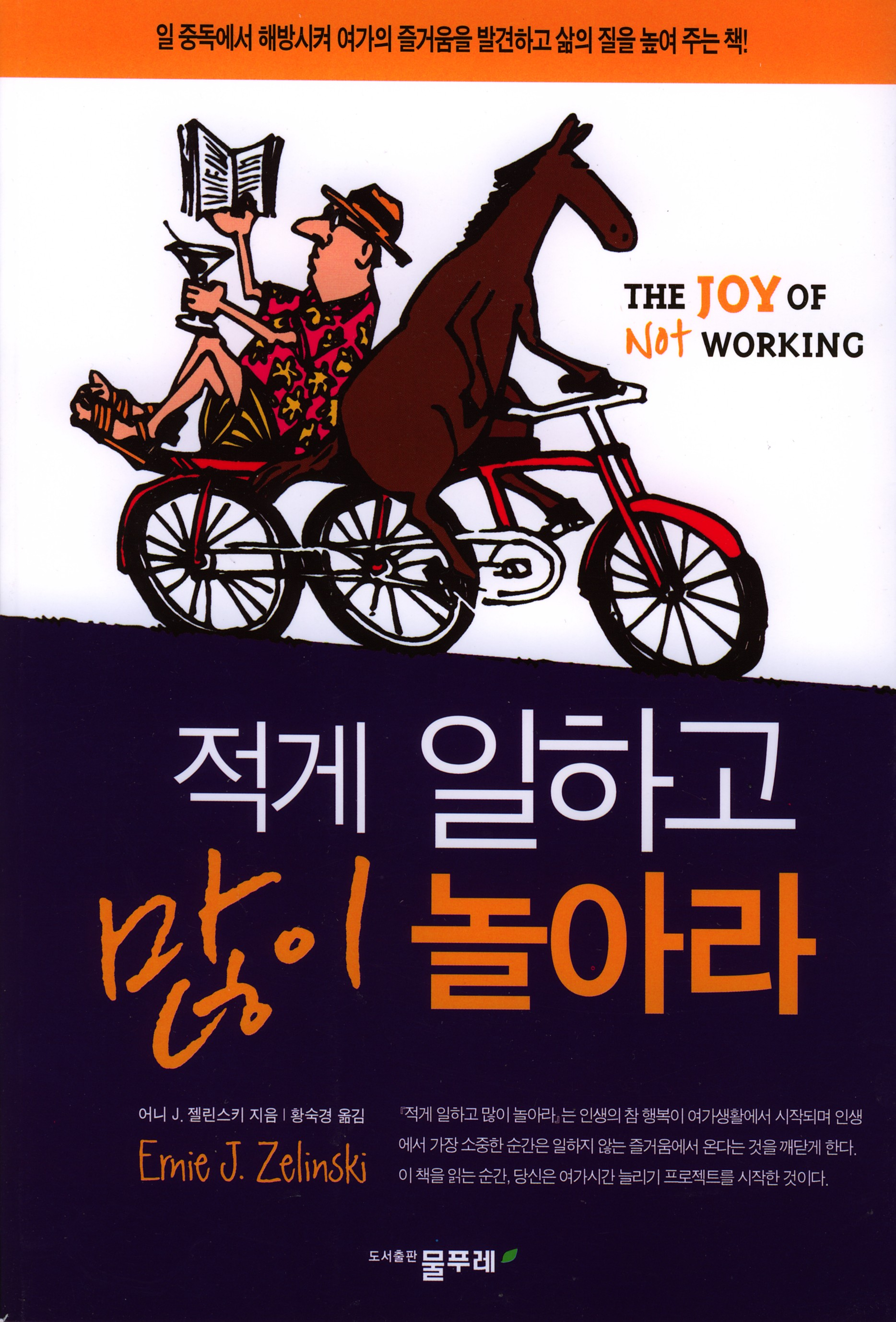 Foreign Rights for The Joy of Not Working Korean